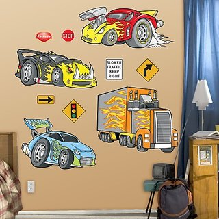 FATHEAD Race Cars Graphic Wall Dcor