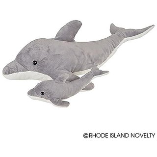 Birth of Life Dolphin with Baby Plush Toy 22