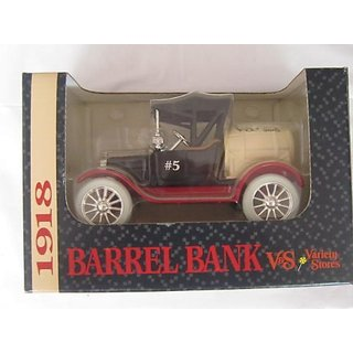 1918 Runabout Barrel V&S Variety Stores #5 Bank