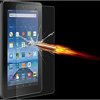 JR Tempered Glass Screen Protector for Kindle Fire HD 7 8 10 2015 & Kindle Paperwhite (Kindle fire HD 7 2015)