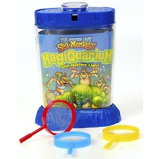 Magiquarium Sea Monkey Grow Kit INCLUDES 3 Bonus Mini Magnifiers