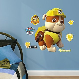 Fathead Rubble Junior Peel and Stick Wall Decals