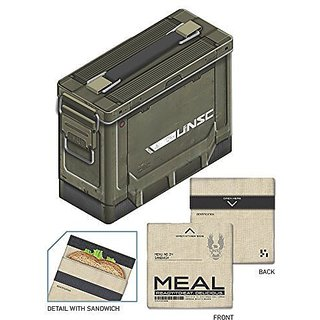 1 X Halo 4 Ammo Crate Tin Lunch Box