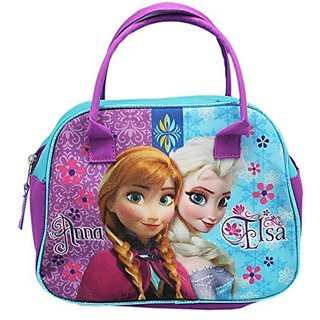 Disney Frozen Anna & Elsa Top Handle Lunch Bag Tote Bag