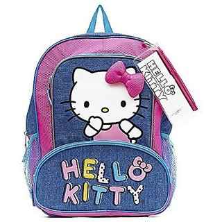 Hello Kitty 16 Inch Backpack with Bonus Pencil Case and Sticker Sheet