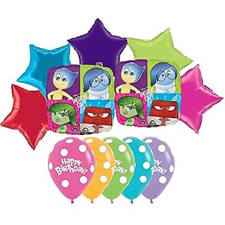 Inside Out Happy Birthday Balloon Decoration Kit by Party Supplies