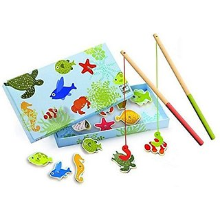 Djeco Magnetic Fishing Game, Tropic