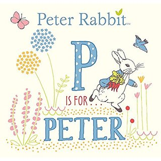 Beatrix Potter P is for Peter Board Book