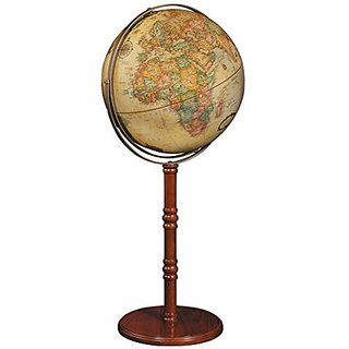 Replogle Globes Commander II Globe, 16-Inch, Antique