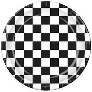 Checkered Plates (8 Pkg)