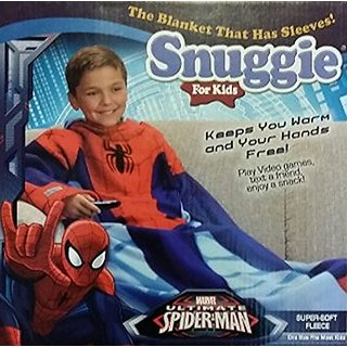 Snuggie for Kids (Spider Man)