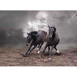 Wallmonkeys Horses of a Twilight - 36