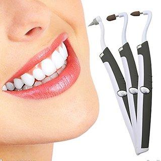 Multifunction Sonic Tooth Stain Eraser,Teeth Burnisher Polisher Whitening Tartar Plaque Remove Surface Teeth Coffee, Tea