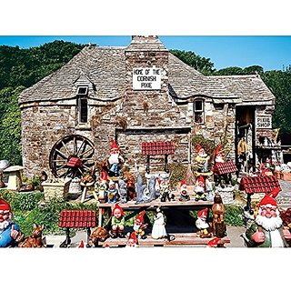 Colorluxe 1500 Piece Puzzle - Olde Worldy Pixie Shop
