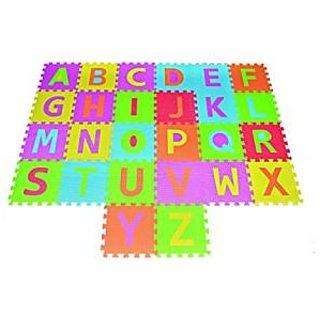 Alphabet Puzzle ABC Play Mat 26 Tiles EVA Foam Kids Rainbow Floor by Poco Divo