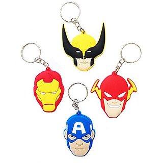 Avengers Keychains 4 Pcs Set #1