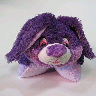 Plushez Purple Bunny Pillow Pet 18