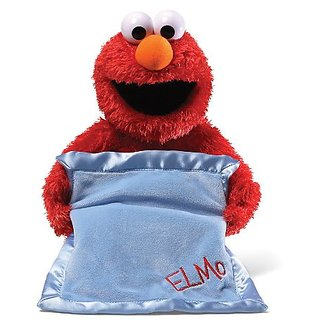 Gund Sesame Street Peek-A-Boo Elmo Animated Toy