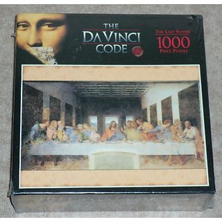The DaVinci Code 1000 Piece Puzzle - The Last Supper