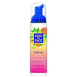 Kiss My Face Hold Up Styling Mousse, 8.5 Ounce