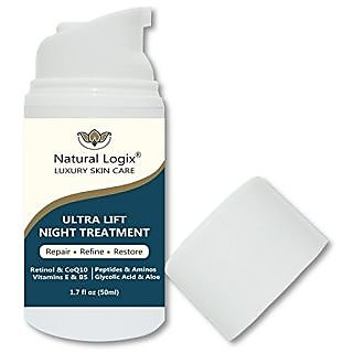 NEW PRODUCT: Advanced Anti-Aging and Anti-Wrinkle Face & Neck Ultra Lift Night Treatment Cream with Retinol Revitalizes