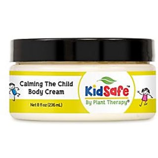 Calming the Child Aromatherapy Body Cream, All Natrual, Made with 100% Pure Essential Oils 8 oz