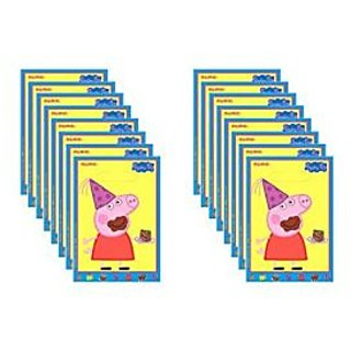 Peppa Pig Loot Bags 16 Ct.