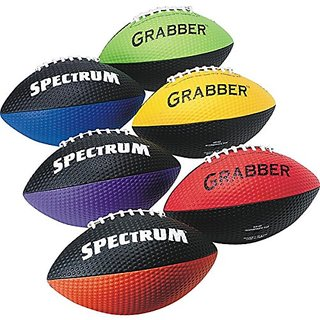 S&S Worldwide Spectrum Grabber Footballs (set of 6)