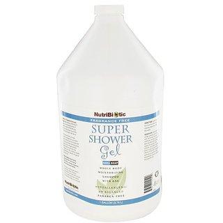 Nutribiotic Super Shower Gel, Fragrance Free , 128 Fluid Ounce