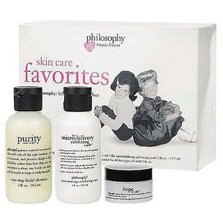 Philosophy Skin Care Favorites Minis-purity Made Simple-exfoliating Wash-hope in a Jar