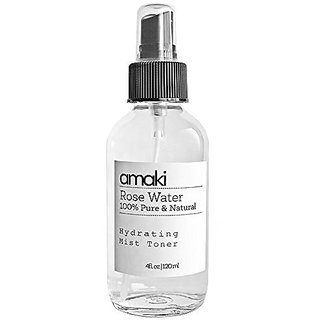 Pure Rose Water Mist Toner - The Best Moisturizer for Acne Prone Skin Reduce Blackheads, Pimples & Adult Acne While Rest