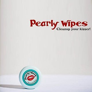 TRUE Pearly Wipes Single Packs, 3.2, White