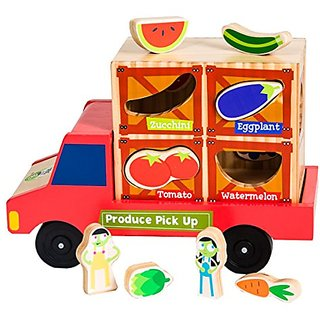 PBS Kids Toys Produce Pickup Matching Toy
