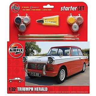 Airfix Triumph Herald Starter Gift Set (1:32 Scale)