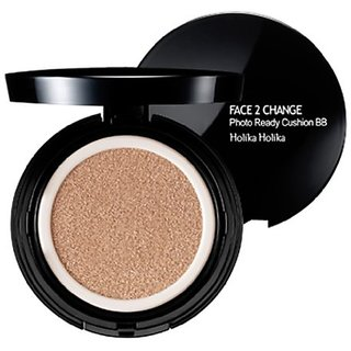 [Holika Holika] Face 2 Change Photo Ready Cushion BB SPF50+ PA+++ 20g (#23 Natural Beige)