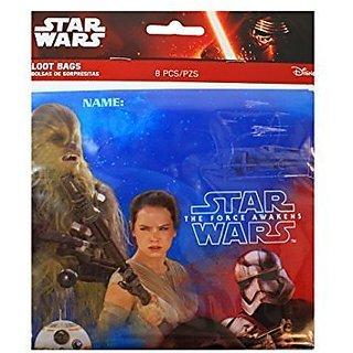 The Force Awakens Star Wars - Loot Bags 16 Ct