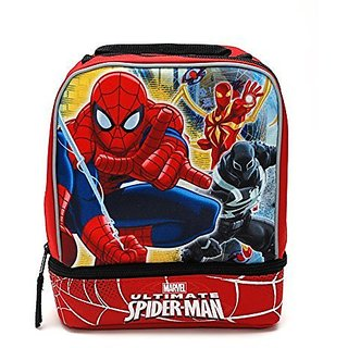 Marvel Ultimate Spider-Man Dual Compartment Lunch Kit