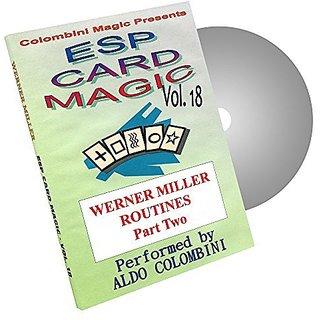 MMS ESP Card Magic Volume 18 by Wild-Colombini Magic DVD