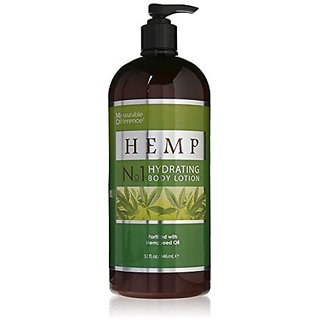 Chrislie Measurable Difference Hemp Body Lotion, 32 Fluid Ounce