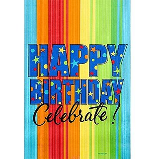 Celebrate Paper Tablecover 54