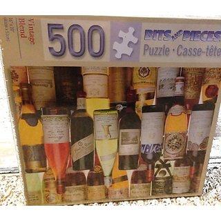 Vintage Blend 500 Pieces Puzzle