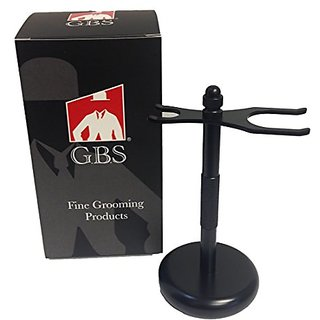GBS Brush and Razor stands (Black Brush and Razor)