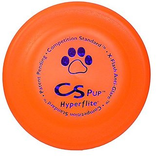 Hyperflite K-10 Pup Competition Standard Dog Disc- Orange 7