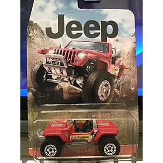 Matchbox Jeep Hurricane Concept Red