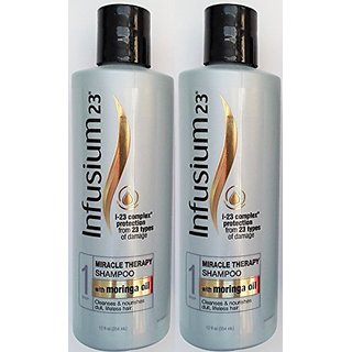 Infusium 23 Miracle Therapy Shampoo - i-23 Complex Protection From 23 Types of Damage - Net Wt. 12 FL OZ (354 mL) Each