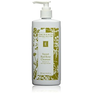 Eminence Organic Skincare Cleanser, Sweet Red Rose, 8.4 Ounce