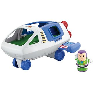 Fisher-Price Little People Disneys Toy Story Buzz Lightyear Space Ship
