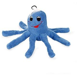 Krislin Plush Octopus Toy, Blue