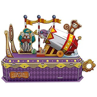 Cubic Fun Circus - Clown Cannon, K1303h 52 pieces