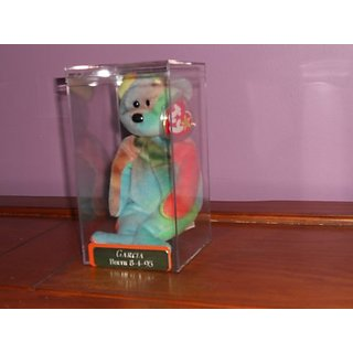 TY Beanie Baby - GARCIA the Ty-dyed Bear (4th Gen hang tag)